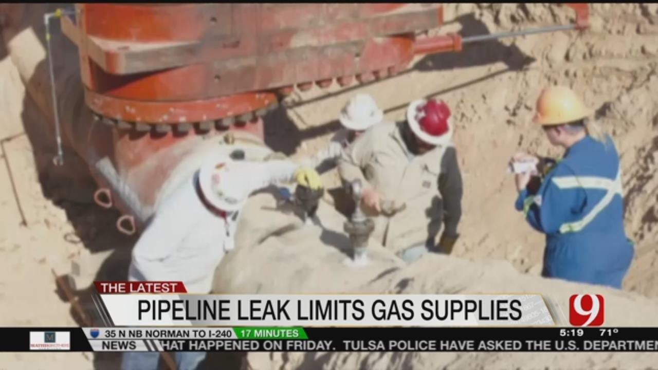 Fuel Supplies In At Least 5 States Threatened By Pipeline Spill
