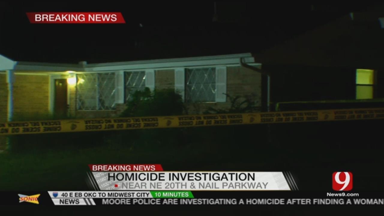 Suspect In Custody For Overnight Homicide In Moore