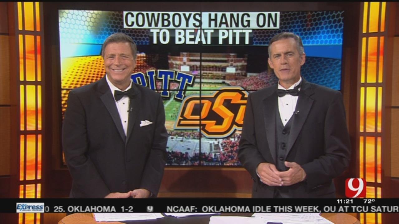 Cowboys Hang On To Beat Pitt