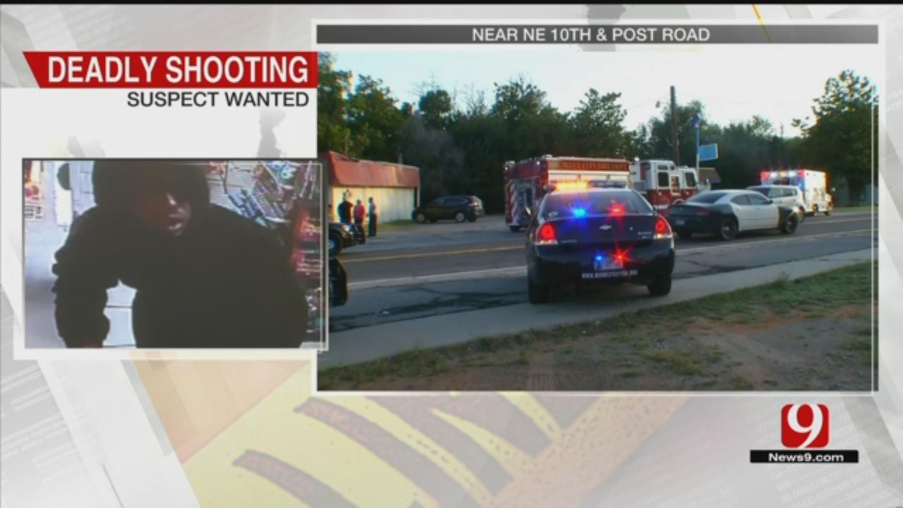 MWC Police: Suspect Wanted For Shooting, Killing Store Clerk In Robbery