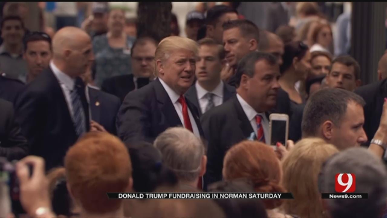 Donald Trump Fundraising In Norman