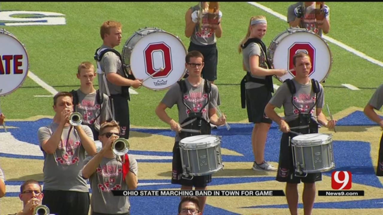 """Who's Dotting The """"i"""" For The Ohio State Marching Band"""