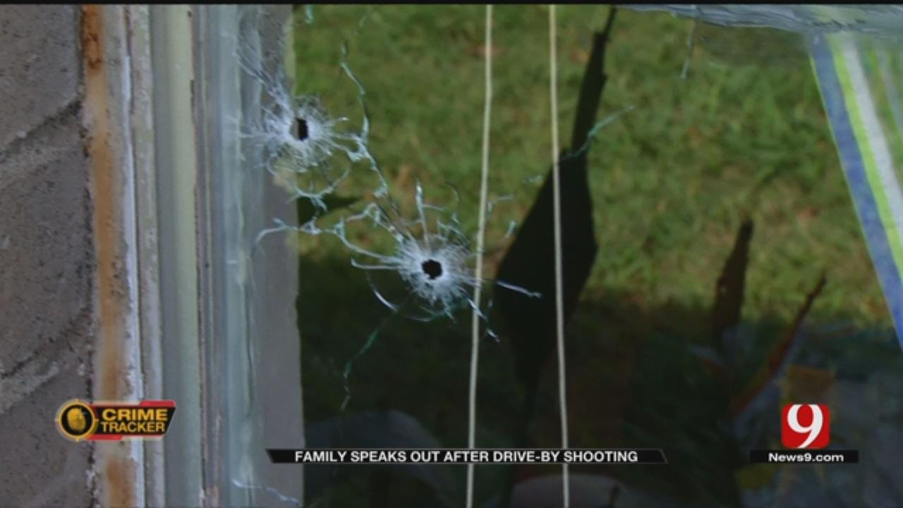 Family Speaks Out After Drive-By Shooting In NW OKC Neighborhood