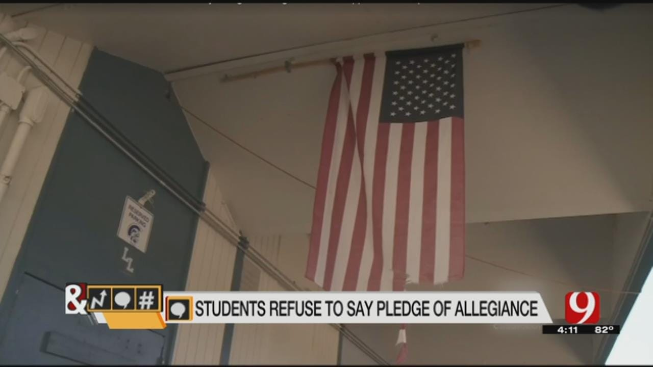 Trends, Topics & Tags: California HS Students Punished Over Pledge Protest