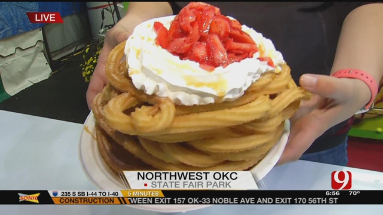 State Fair Food: Justin Dougherty Tries 'The Mexican Funnel Cake'