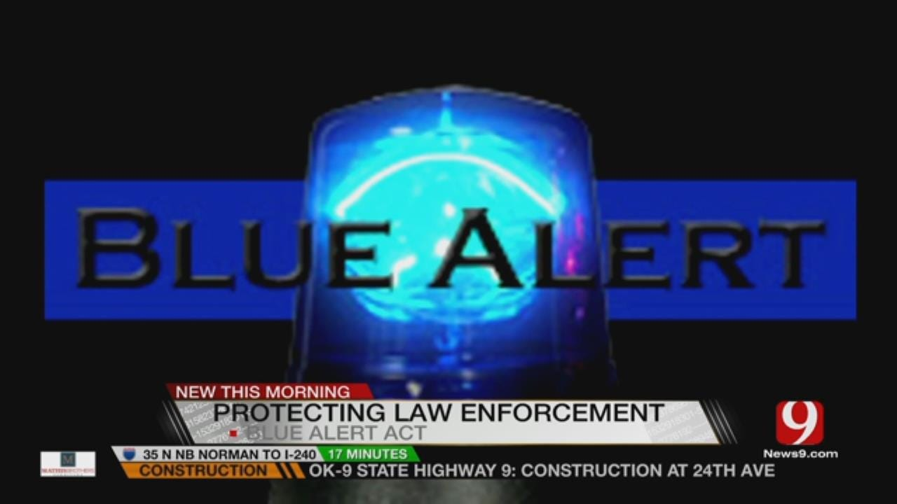 Blue Alert Act Signed Into Law