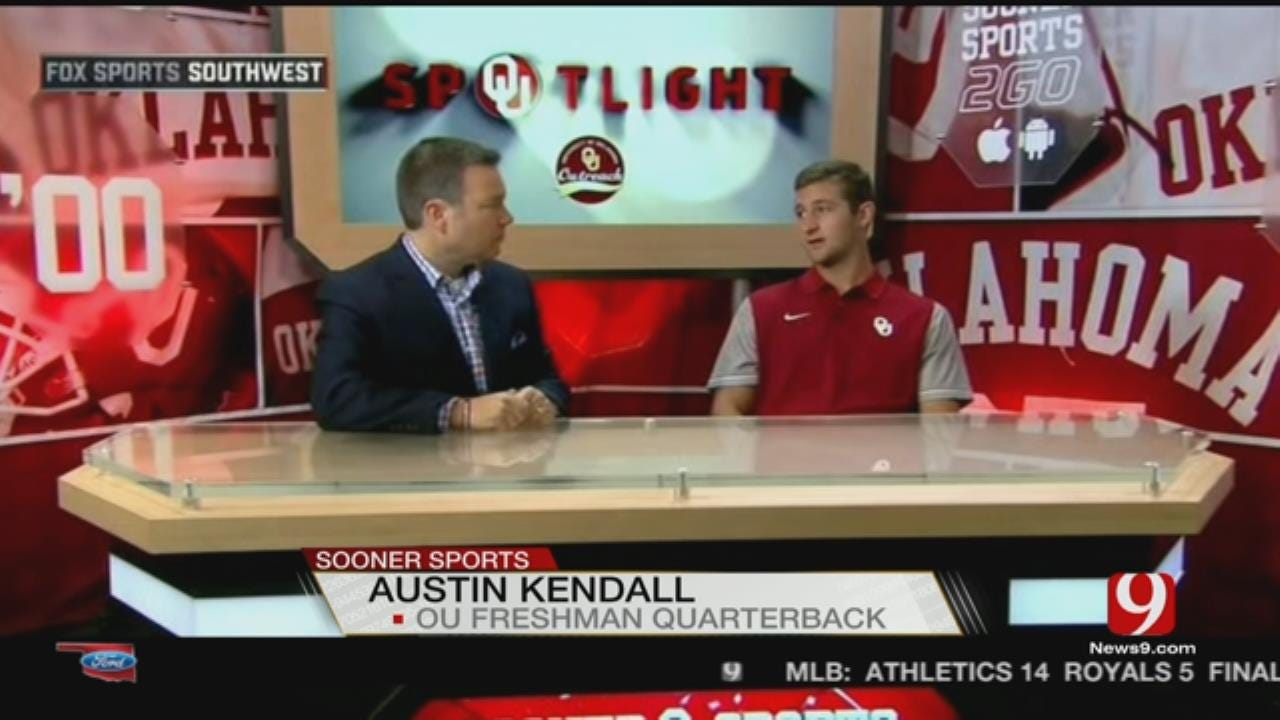 Backup QB Kendall Says OU Will 'Light Up' Ohio State Defense