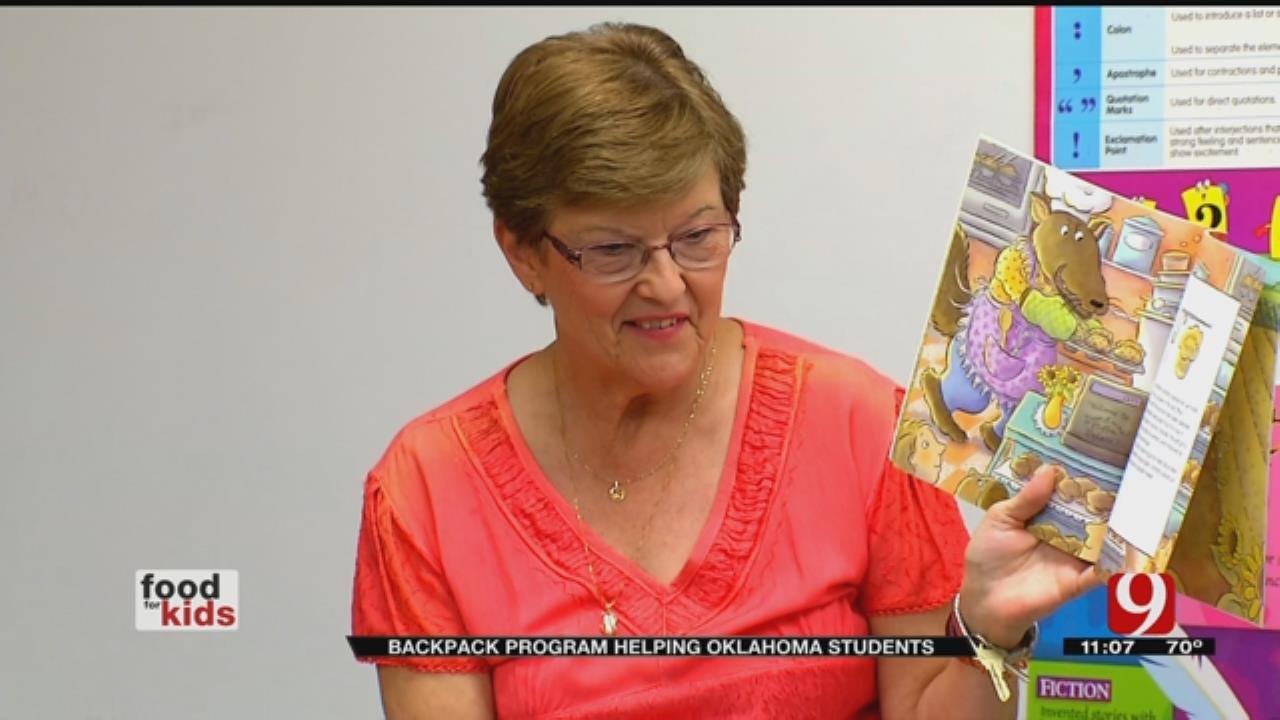 Backpack Program Feeds Hungry Oklahoma Kids Over Weekends