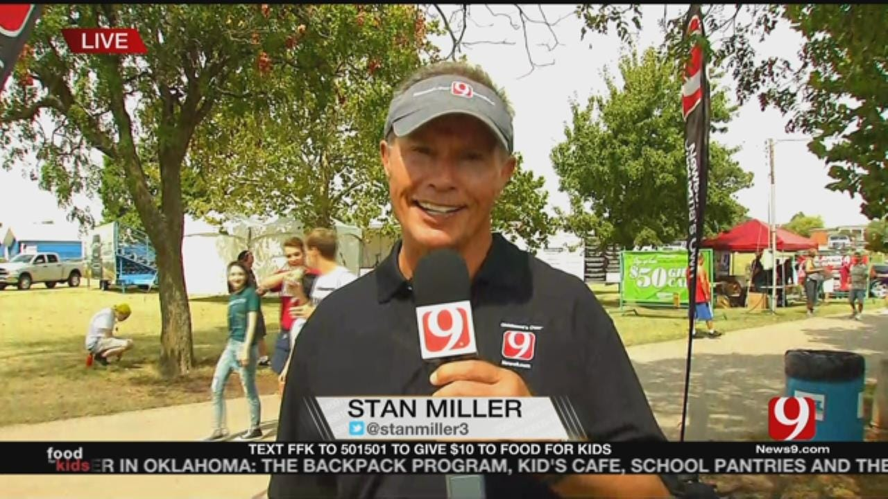 Stan Miller Live From The News 9 Booth At OK State Fair
