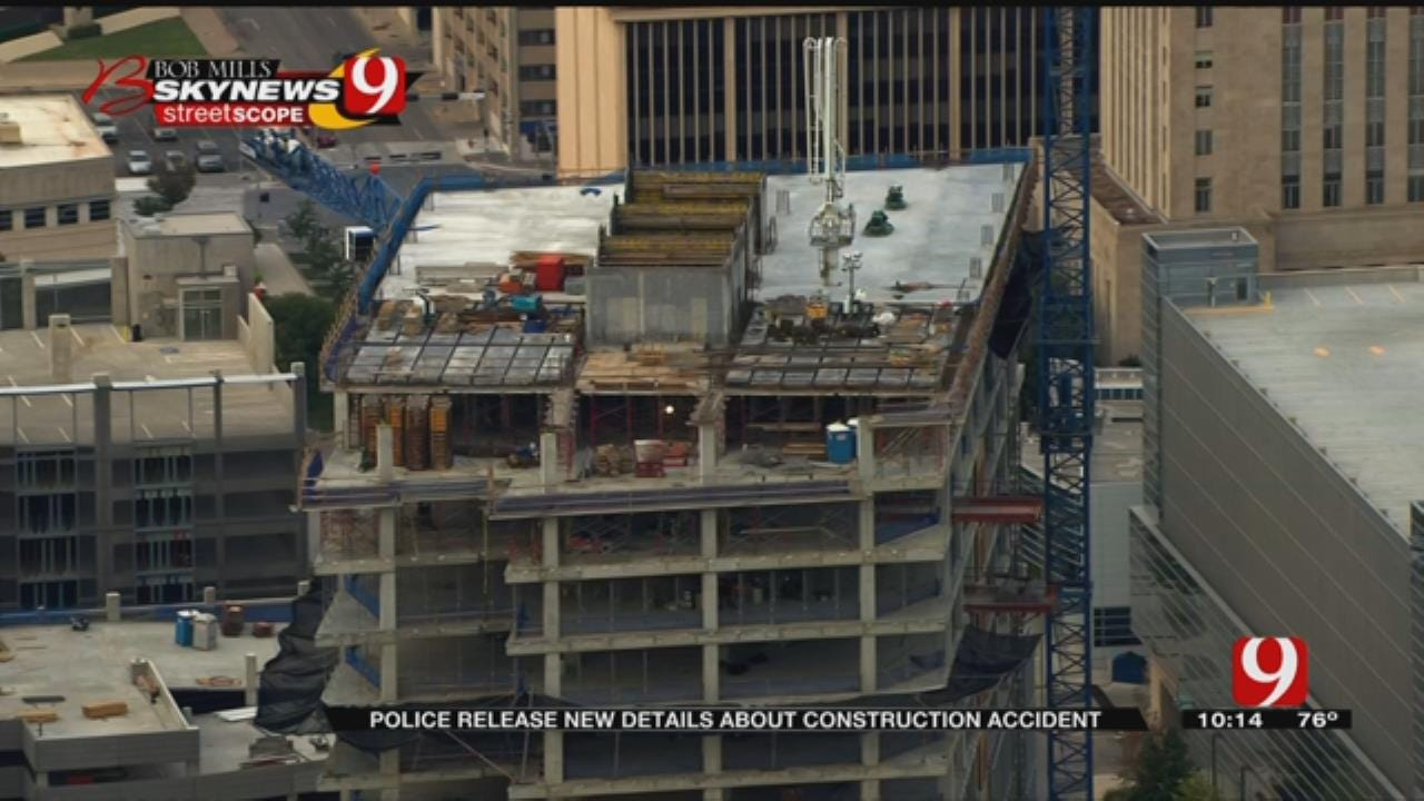 Police Release New Details About Construction Accident