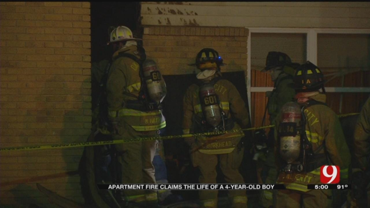 911 Audio Released In Deadly NW OKC Apartment Fire