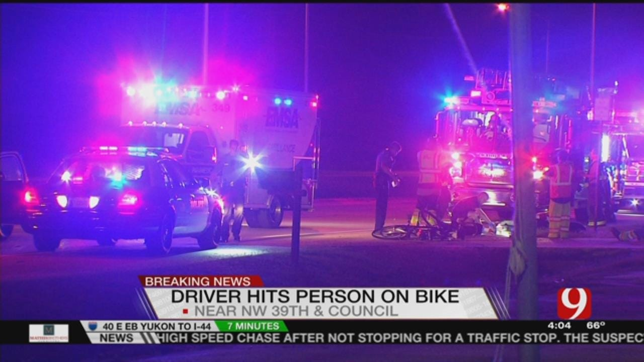 Bicyclist Hit By Car In Bethany