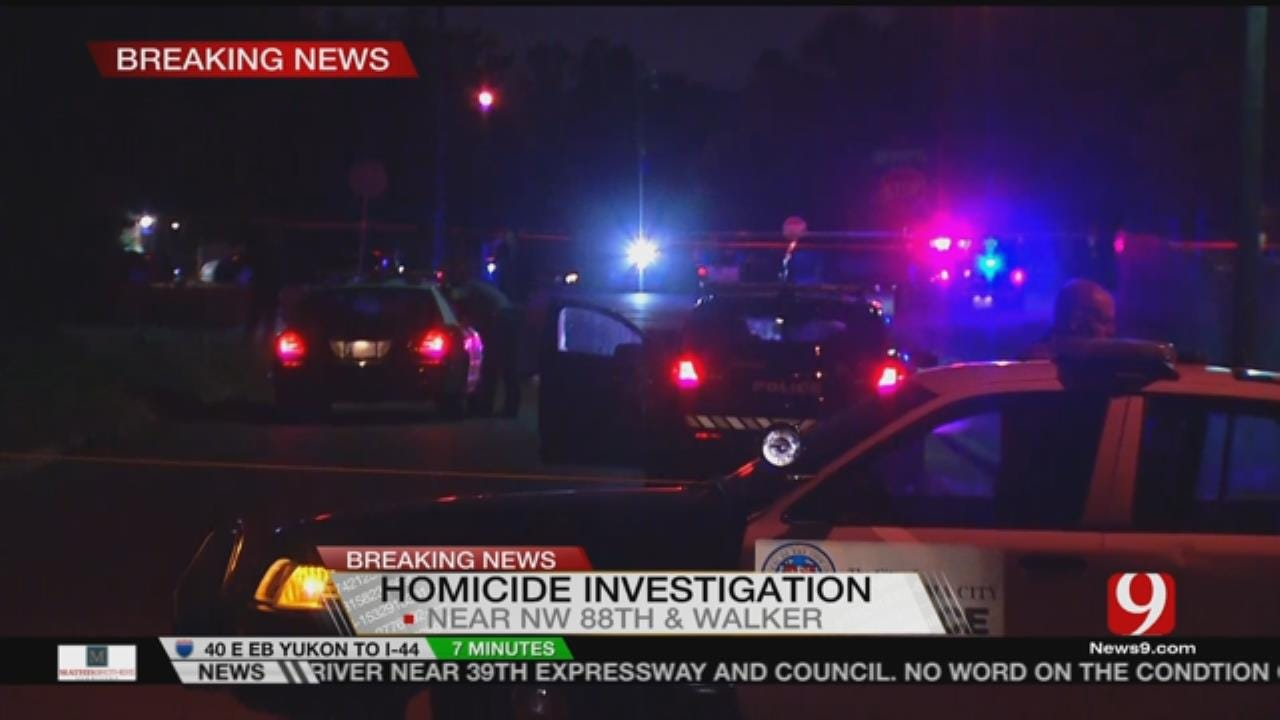 Police Search For Shooting Suspect In NE OKC