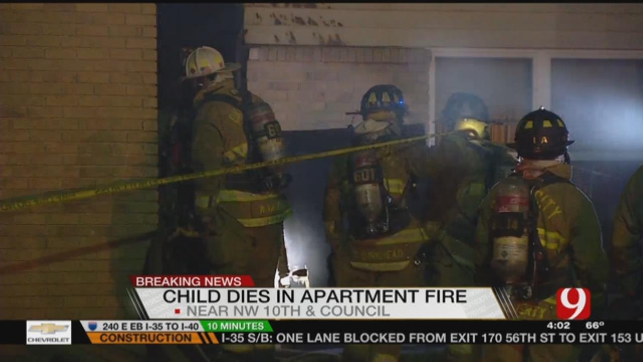 3-Alarm Fire Kills 4-Year-Old