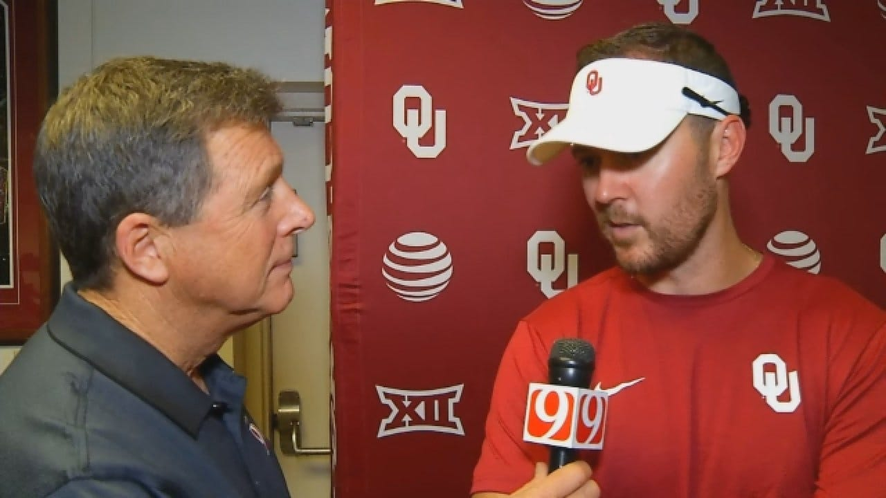 Dean Goes 1-on-1 With OU Offensive Coordinator Lincoln Riley