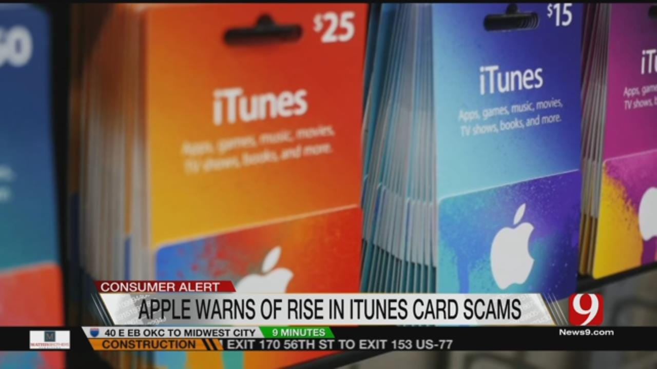 Apple Warns Of iTunes Gift Card Scams