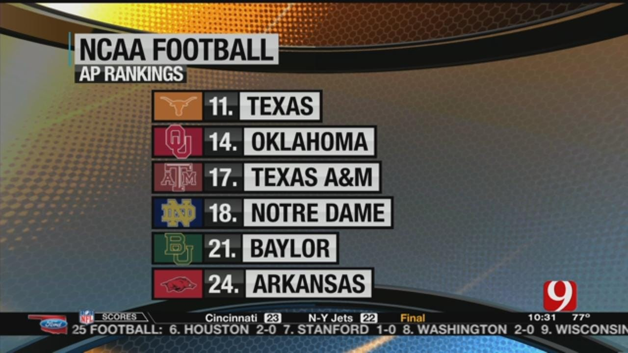 New College Football Polls Released