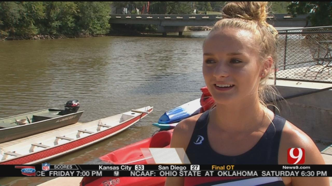 OKC Teenager Competes In Olympic Hopes Games