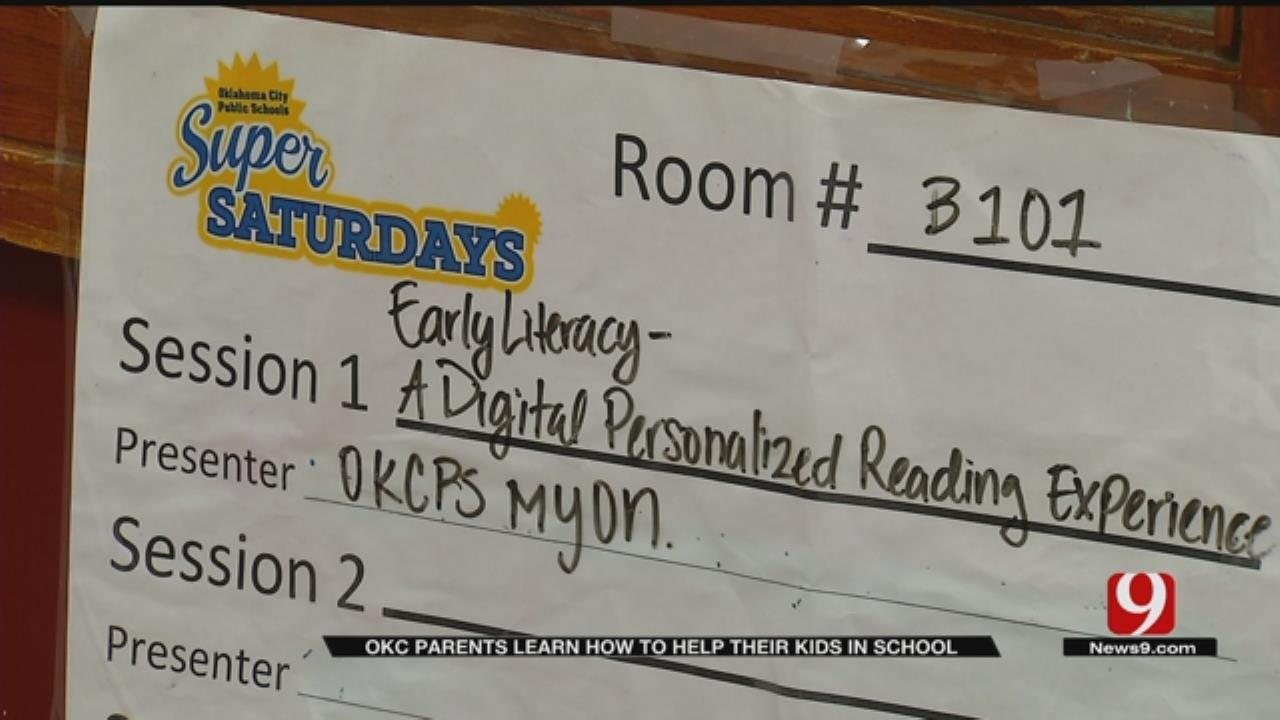 OKCPS Offers Program To Help Parents Be More Involved In Child's Education