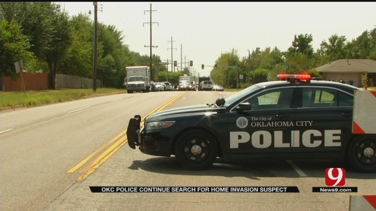 OKC Police Continue Search For Home Invasion Suspect