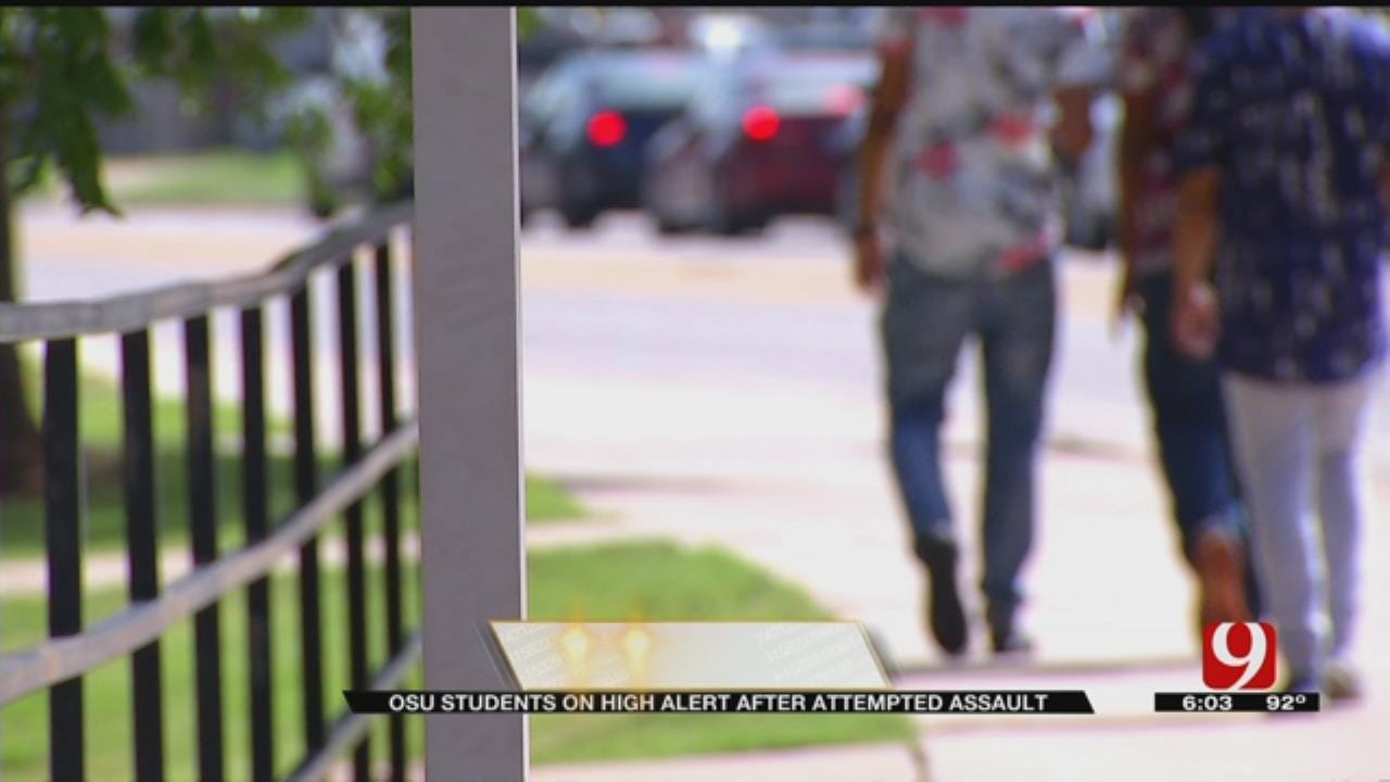 OSU Students On Alert After Attempted Sexual Assault On Campus