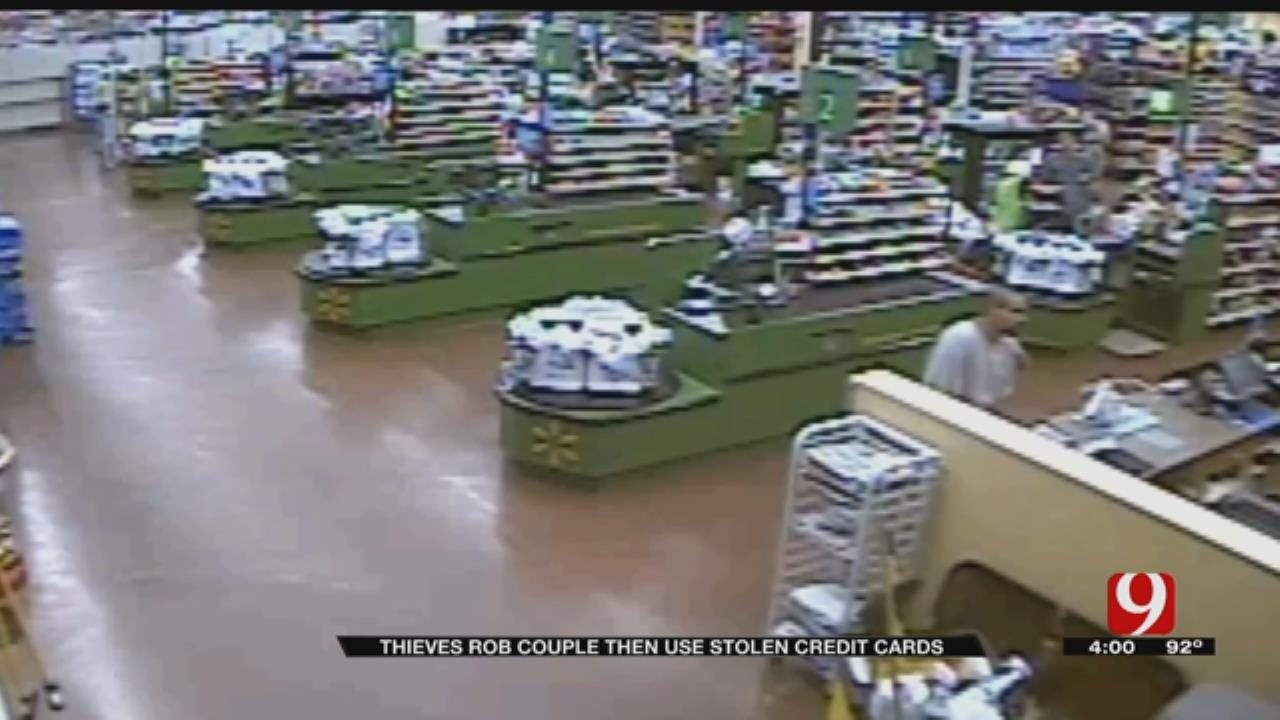 Thieves Rob Metro Couple, The Use Stolen Credit Cards