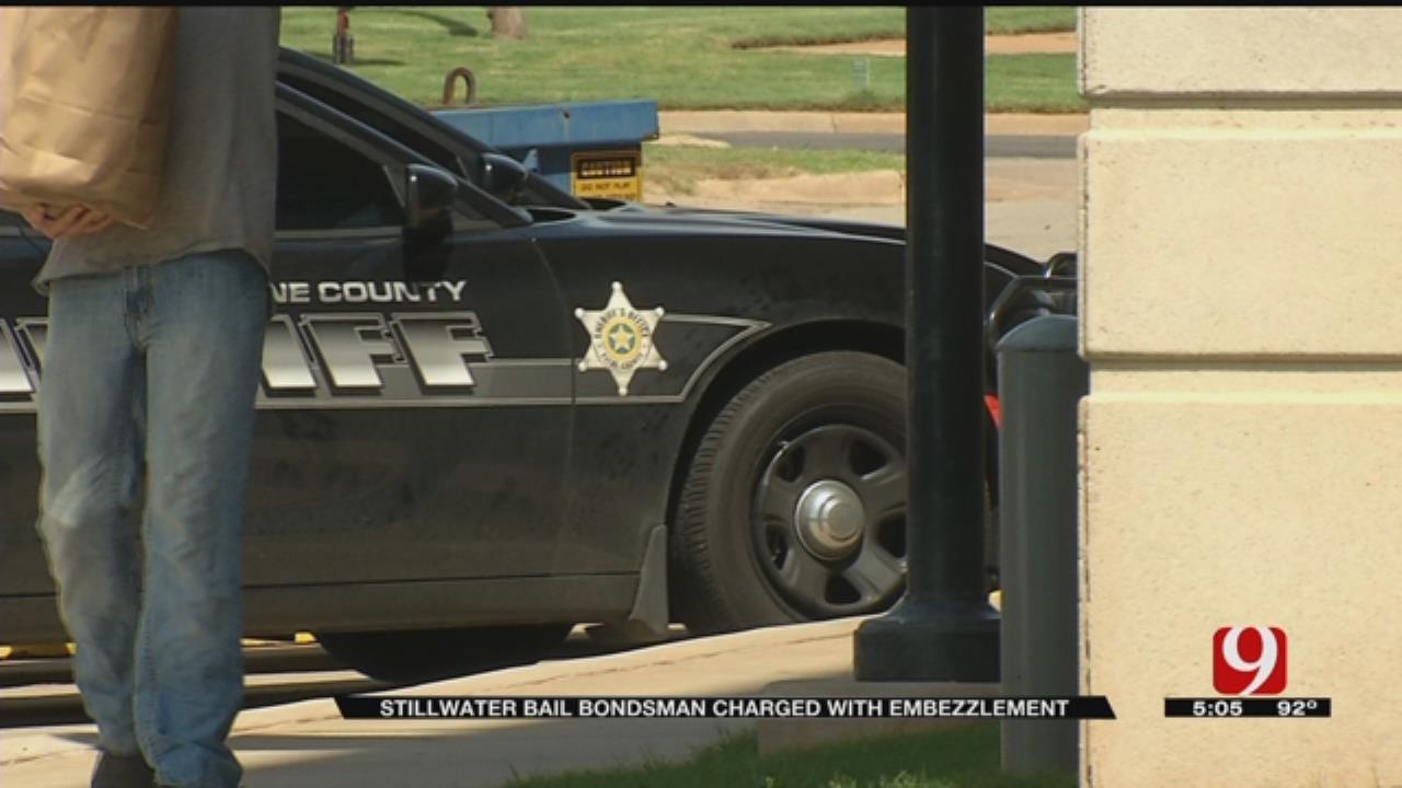 Stillwater Bail Bondsman Charged With Embezzlement