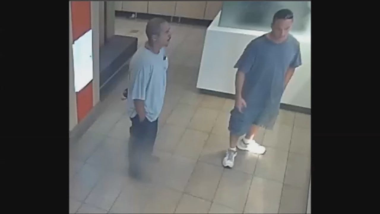 WEB EXTRA: OKC Police Release Surveillance Video Of Robbery Suspects