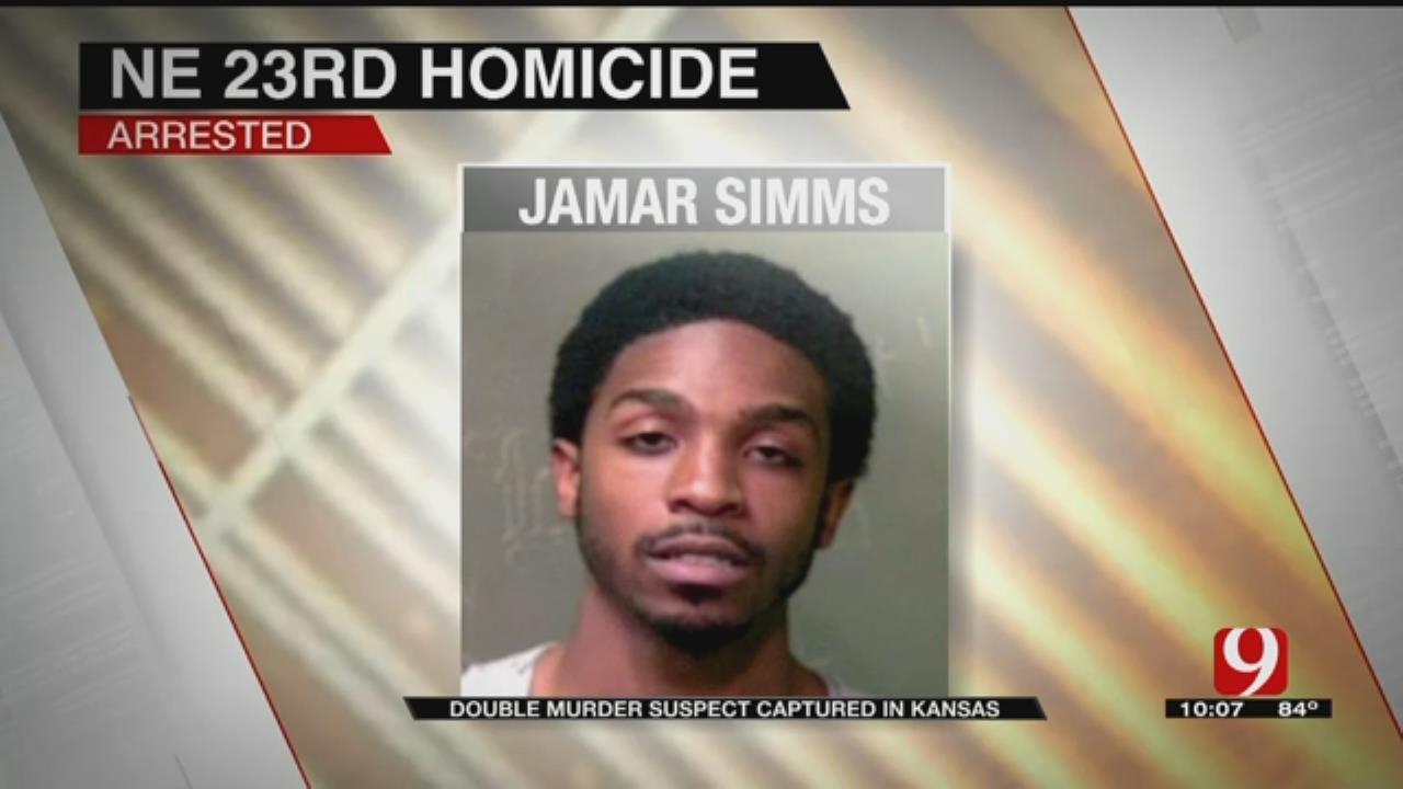 Double Murder Suspect Captured In Kansas