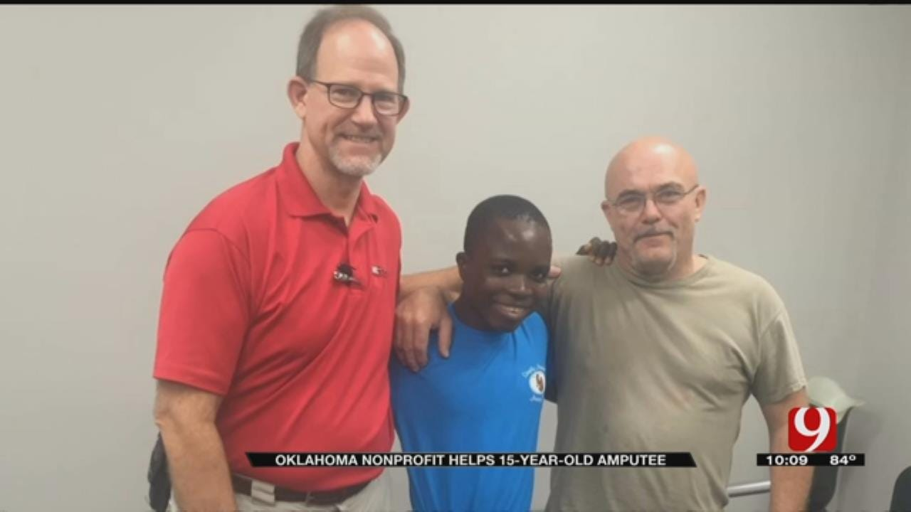 Oklahoma Nonprofit Helps 15-Year-Old Amputee