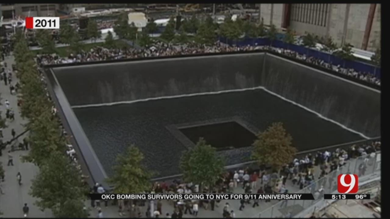 OKC Bombing Survivors Head To NYC for 9/11