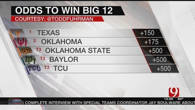 Texas Jumps OU As Big 12 Favorite