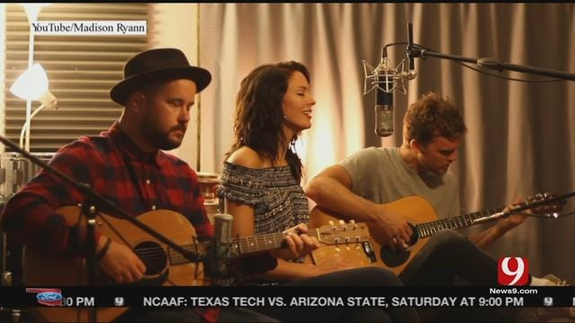 OU's Ward Sings As Well As She Sets