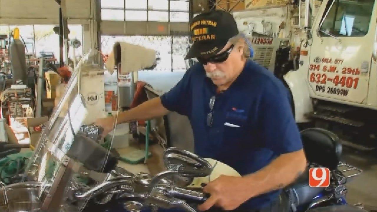 WEB EXTRA: Veteran Mike Prunsky Reunited With His Stolen Harley Davidson