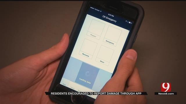 OK Emergency Management Asking For Damage Photos Through App