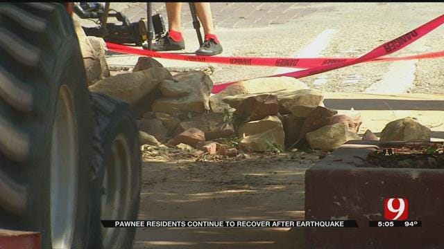Pawnee Residents Continue To Recover After Earthquake