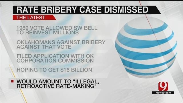 Oklahoma Corporation Commission Votes To Dismiss AT&T Rate Bribery Case