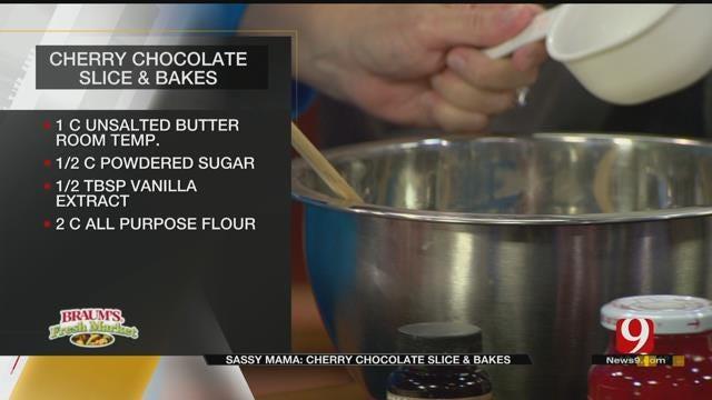 Cherry Chocolate Slice and Bakes