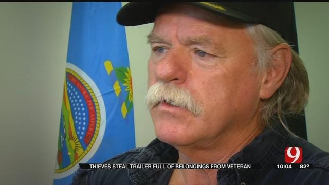 Thieves Take Trailer Full Of Vietnam War Veteran's Belongings