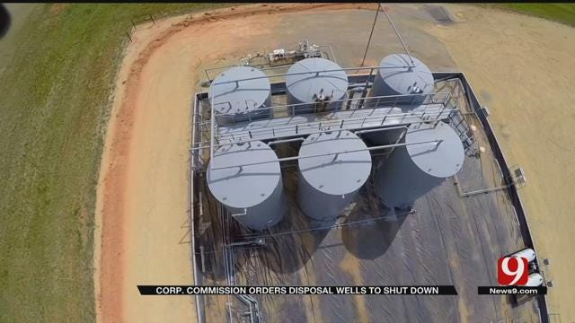 Dozens of Wastewater Wells Directed To Shut Down In OK