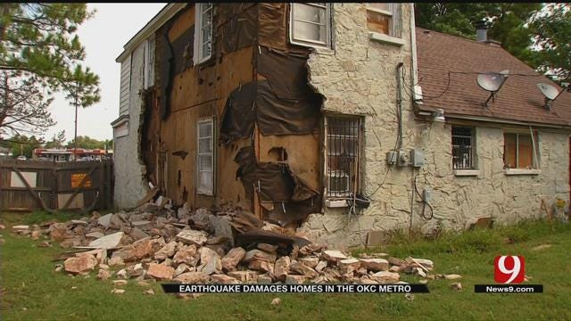 5.6-Magnitude Pawnee Quake Causes Damage In OKC Metro