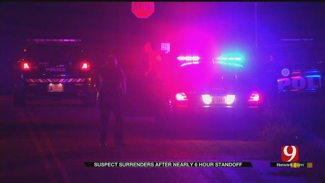 Louisiana Murder Suspect Surrenders After 6-Hour Standoff In NE OKC