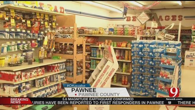 Pawnee Grocery Store