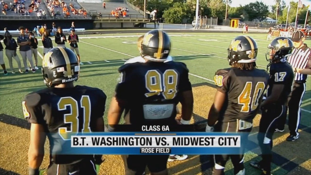 Booker T. Washington Beats Midwest City In Close Game