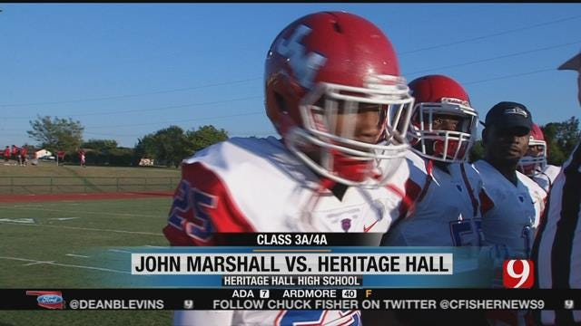 Heritage Hall Vs. John Marshall