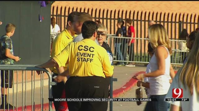 Moore Schools Improving Security At Football Games
