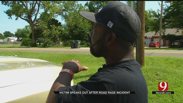 Victim Shares Story After Road Rage Incident In SW OKC