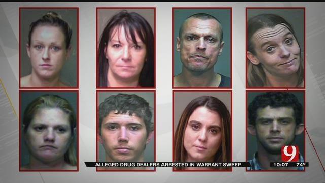 OBN Arrests Several Alleged Drug Dealers In Warrant Sweep