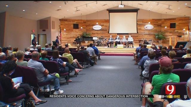 OKC Residents Voice Concerns About Dangerous Intersection