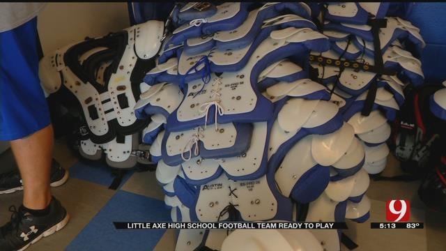 Little Axe Football Team Preparing For First Game Since Fire